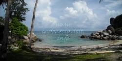 lengkuas island beach, belitong