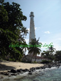lengkuas island lighthouse, belitong