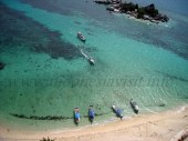 beautiful lengkuas island beach, belitong