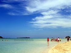 pasir island beach