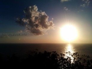 sunset @ uluwatu