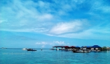 floating homestays at Derawan