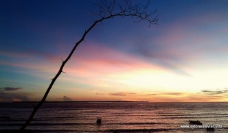 sunset @ tanjung bira; view from Sapolohe hotel
