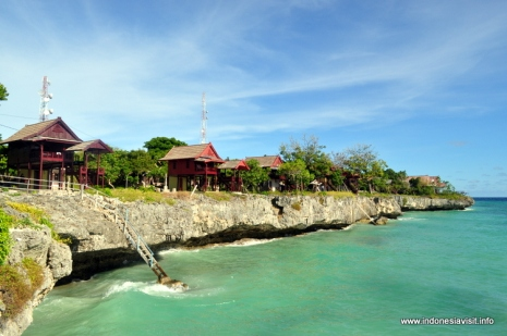 coastal cliff @ tanjung bira