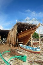 Making of Phinisi Sailing Boat @ Tanaberu Village