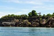 uninhabited Kambing island