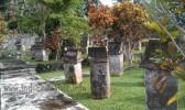 waruga sawangan (ancient minahasa stone tomb)