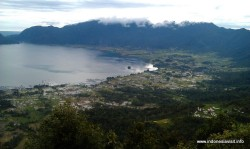 the 2nd largest lake in west sumatra