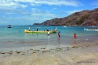 in a row @ kuta beach